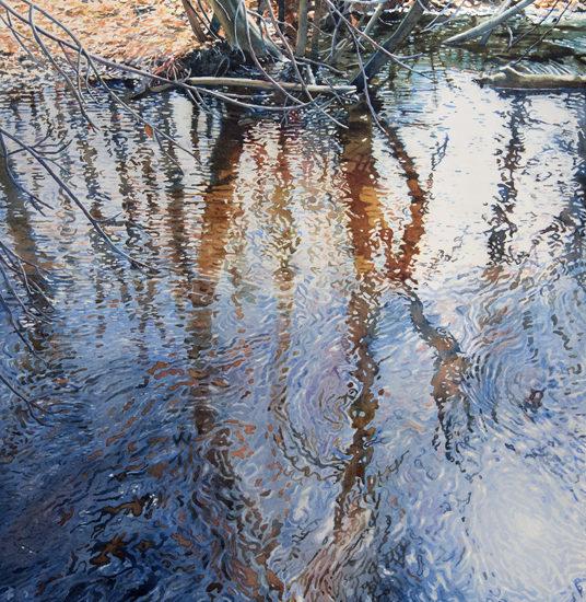 Lisa-Jefferson,watercolors,Willow-Reflections